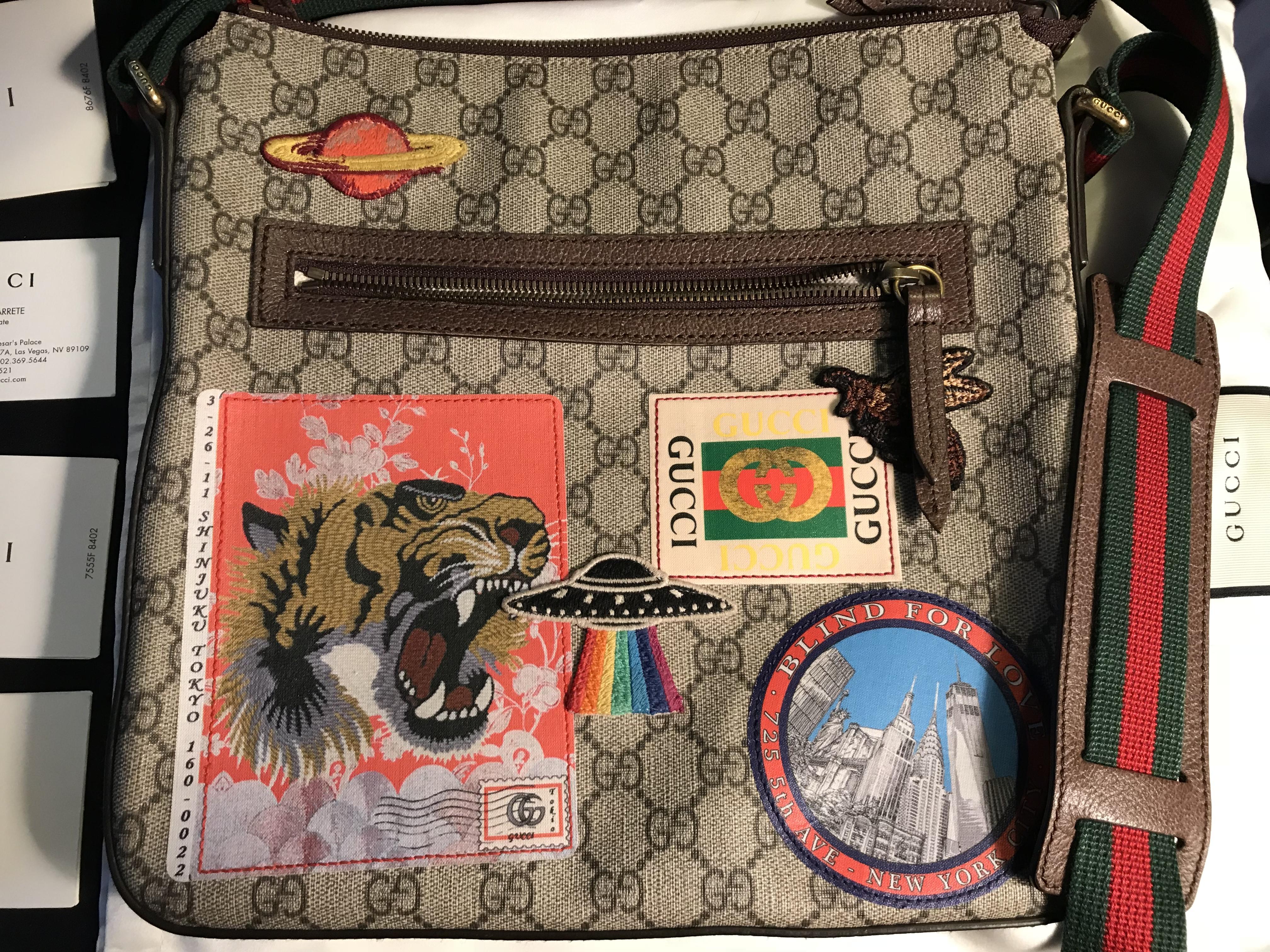 bad066619a88 Gucci Gucci Courrier Soft Gg Supreme Messenger | Grailed