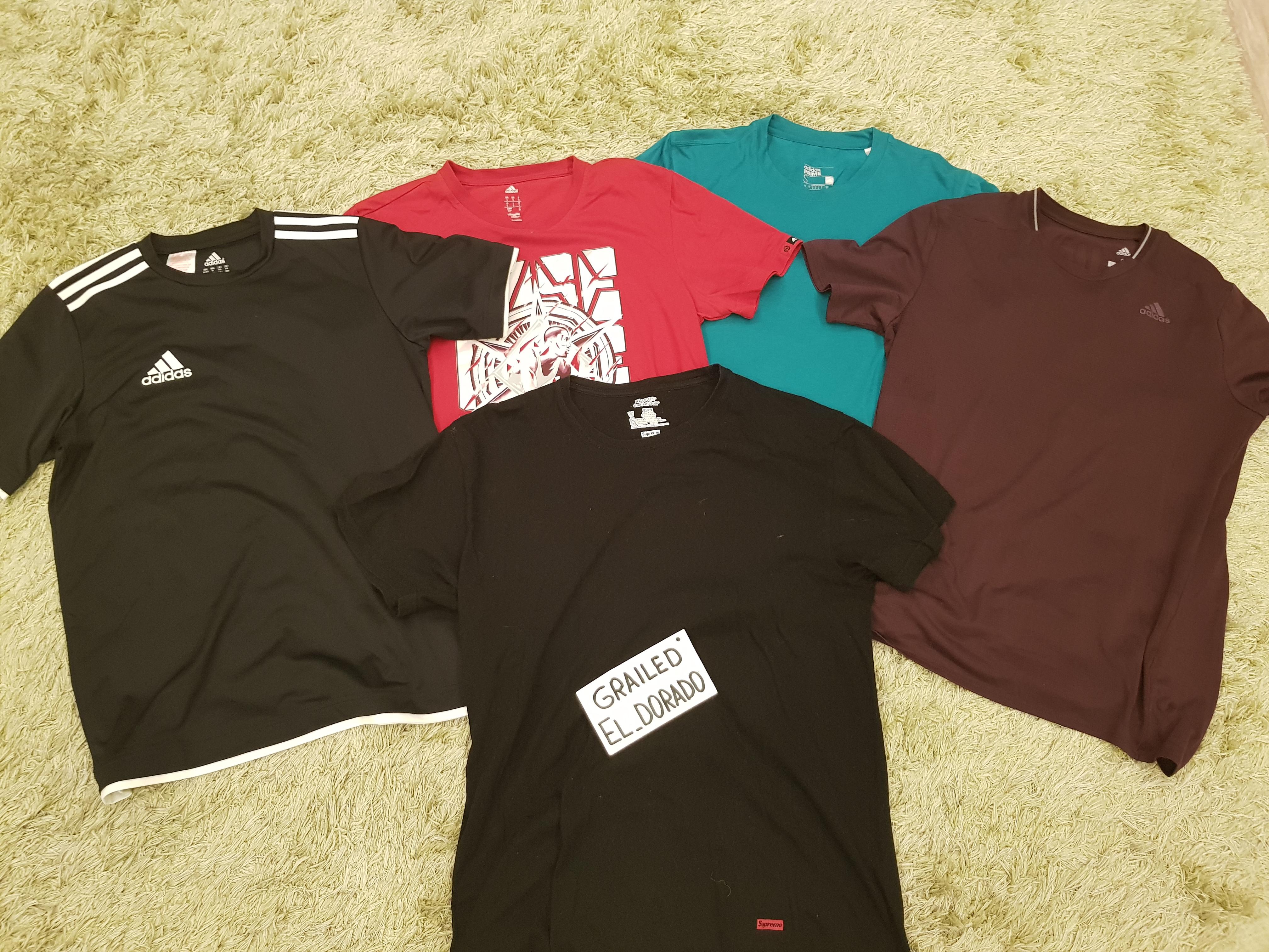 prezzo folle bellissimo stile migliori offerte su Supreme Adidas X Supreme T-shirt Pack   Grailed