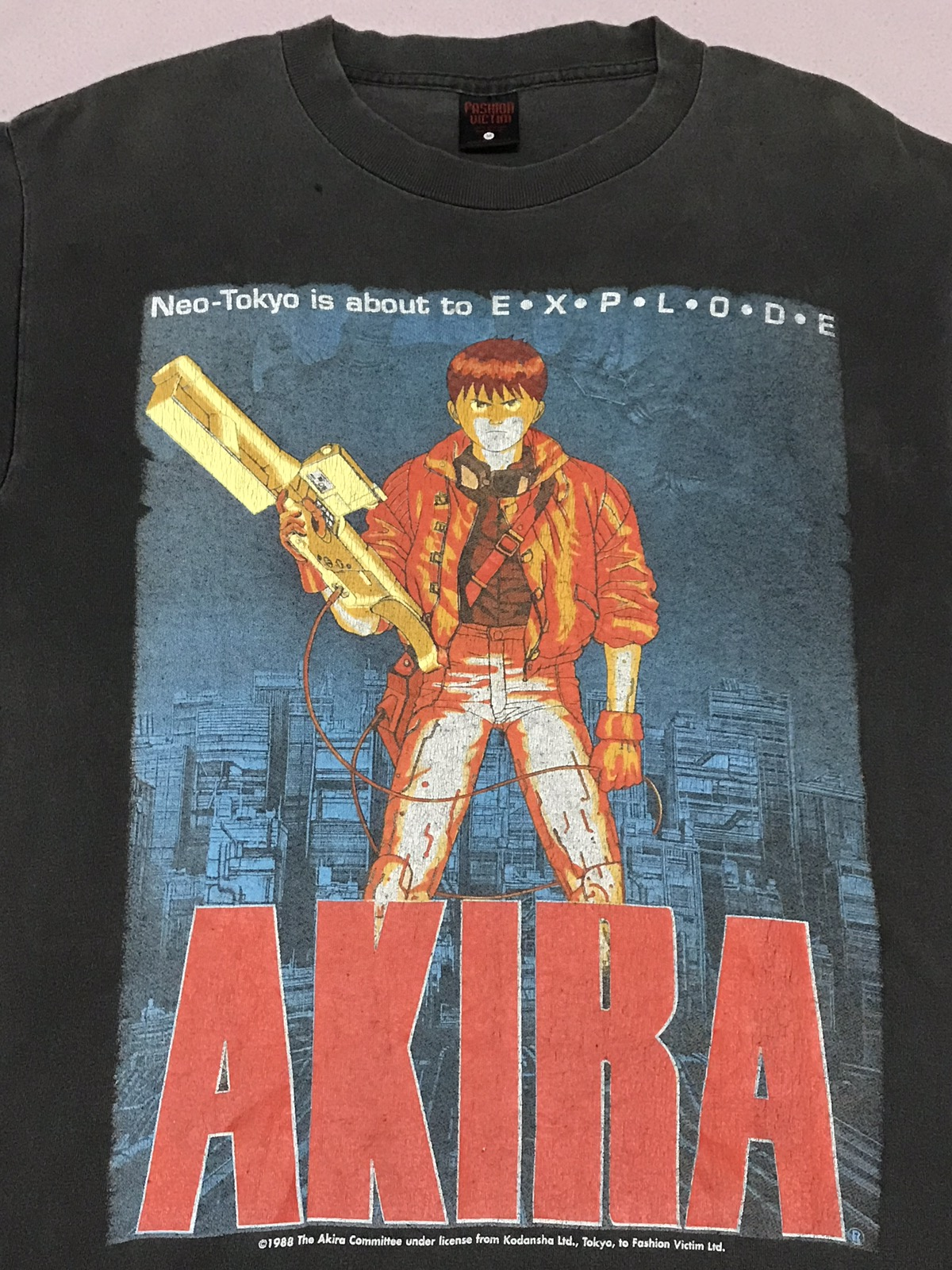 Vintage Very Rare Vintage Akira Fashion Victim Anime Manga Tshirt Ghost In The Shell Supreme Issey Miyake Hypebeast Cowboy Bebop Samurai Champloo Bathing Ape Grailed