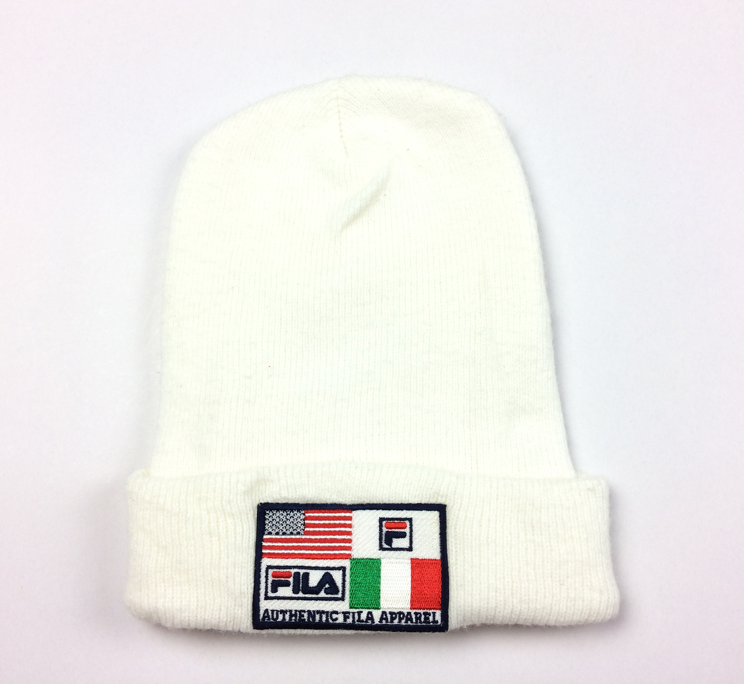 81bc8811865 Fila Vintage Fila Ski Hat Big Logo Winter Snow Cap Fila Hats Skate ...