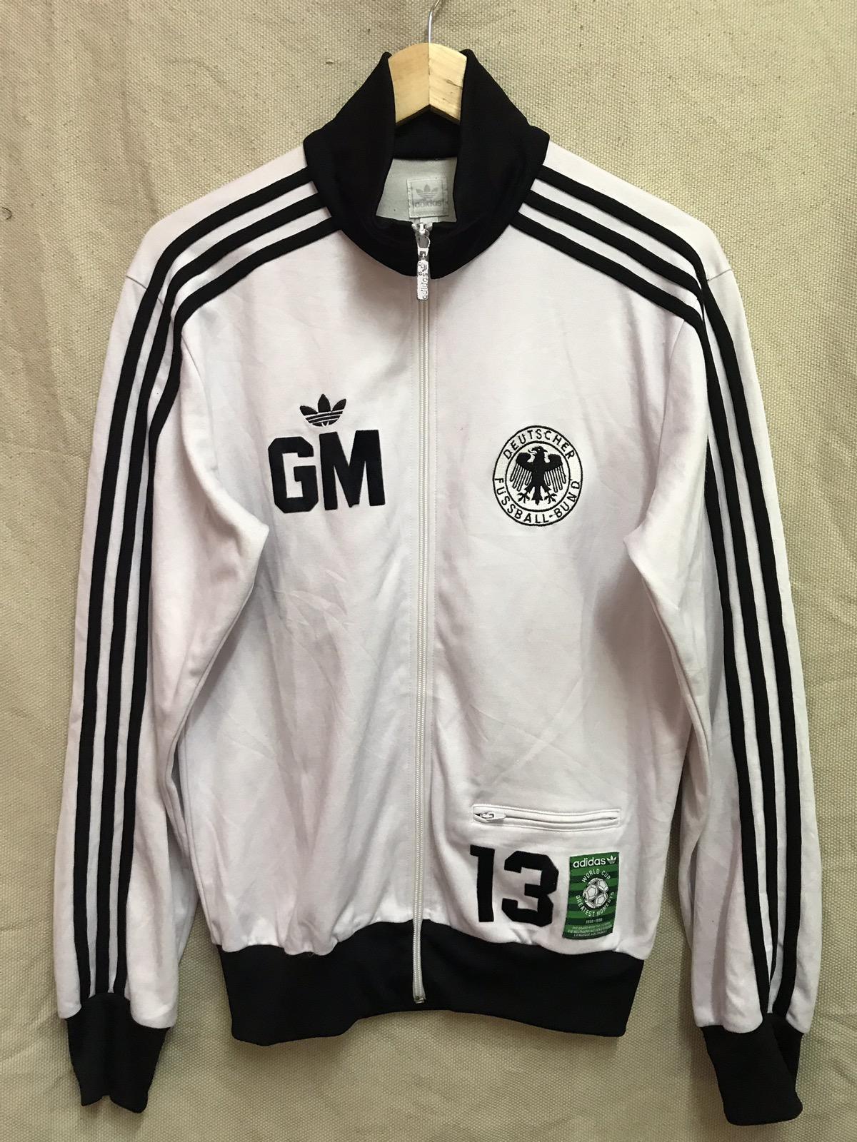 4f0be73ad Vtg Adidas Originals Der Bomber Gerd Müller Limited Edition World Cup  Greatest Moments Jacket