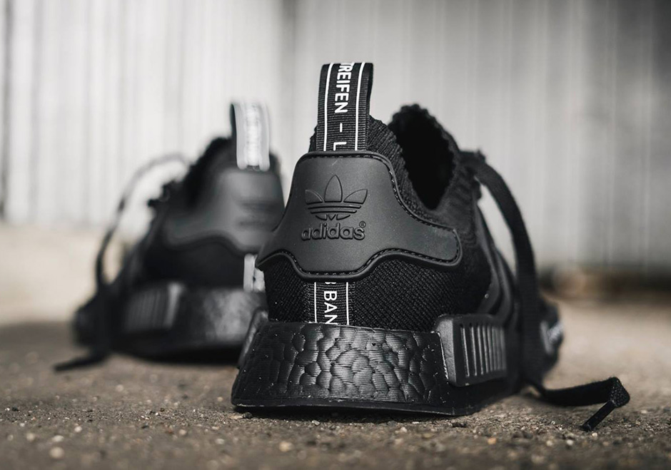 Adidas NMD R1 PK Japan Triple Black