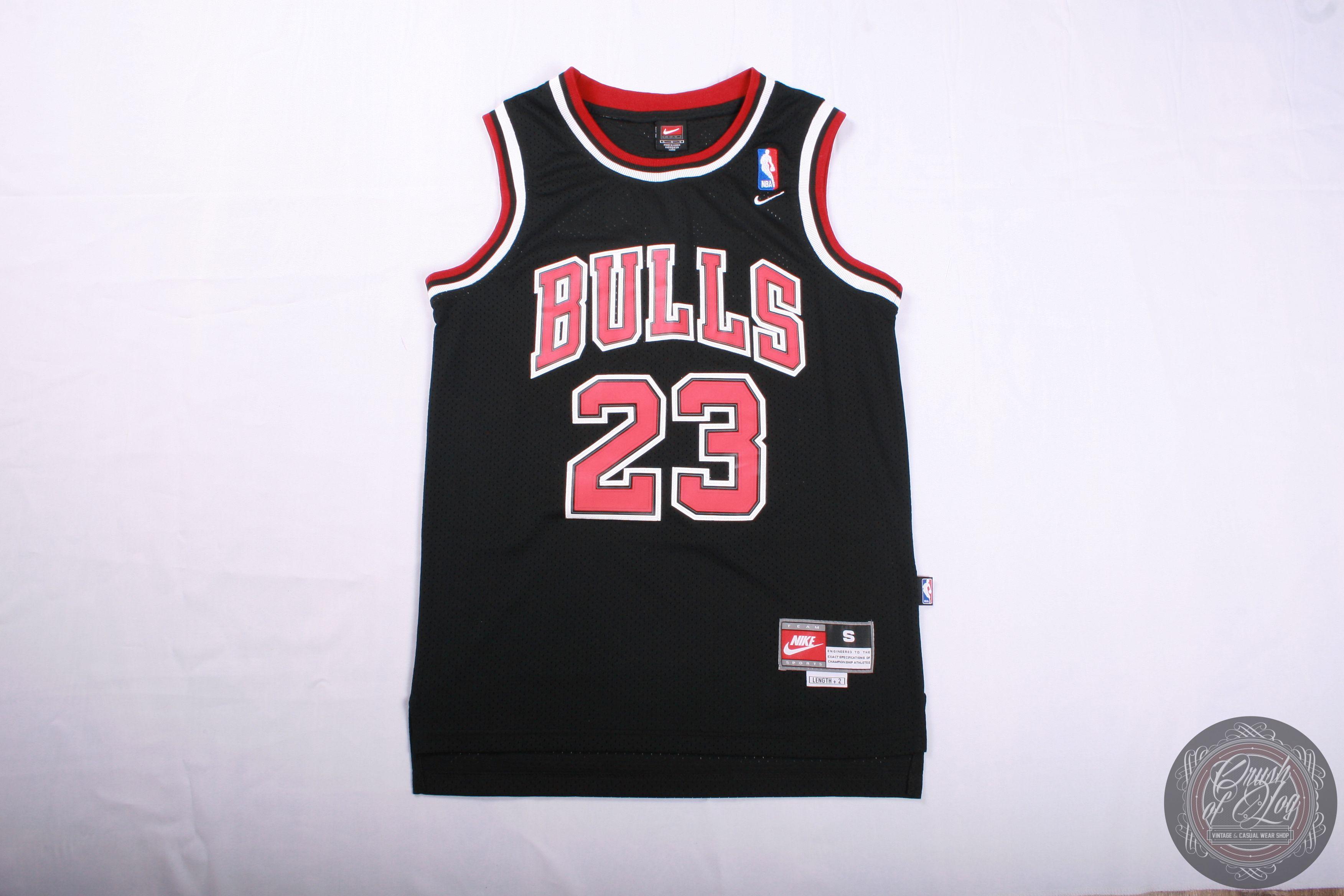 promo code 800a4 d644a Michael Jordan 23 Chicago Bulls Nike Vintage Black Jersey