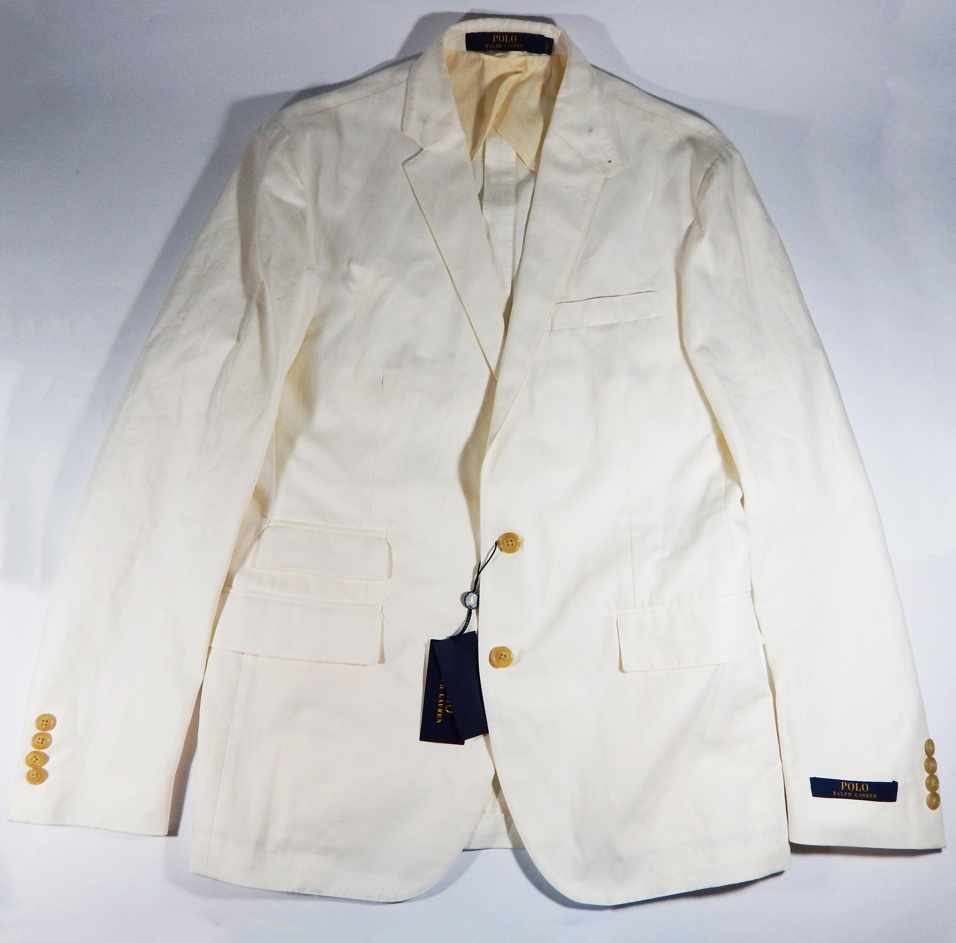 ab583297a3 NEW Polo Ralph Lauren Cotton-Linen Morgan Slim Fit Sport Coat