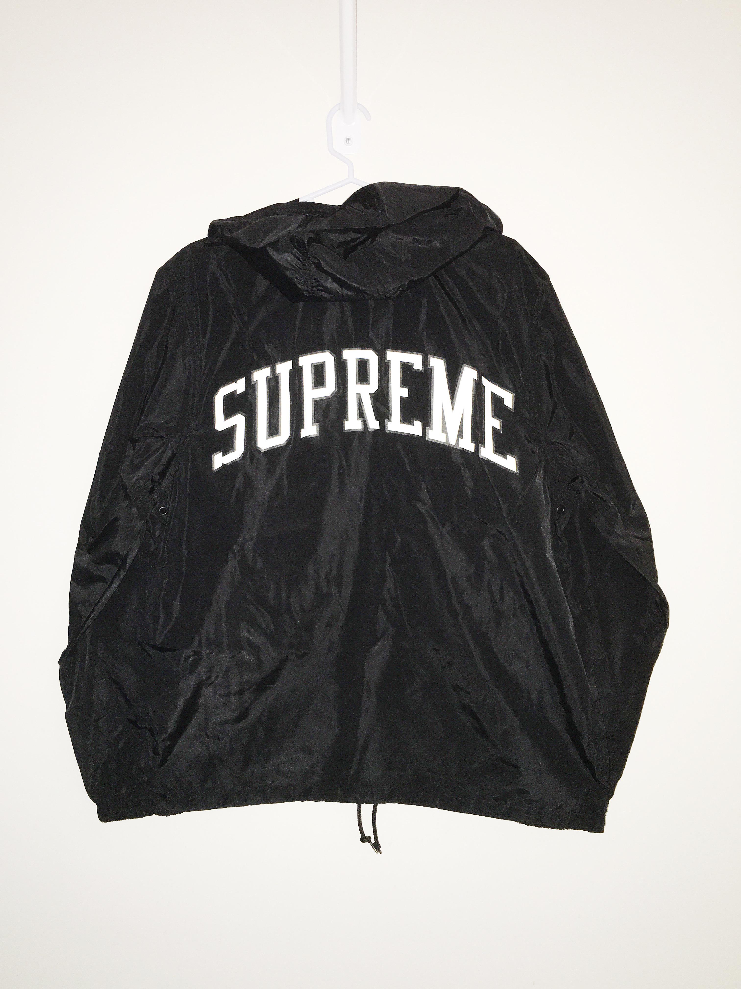 Supreme Champion Half Zip Windbreaker Black Medium Size M Light Jackets For Grailed