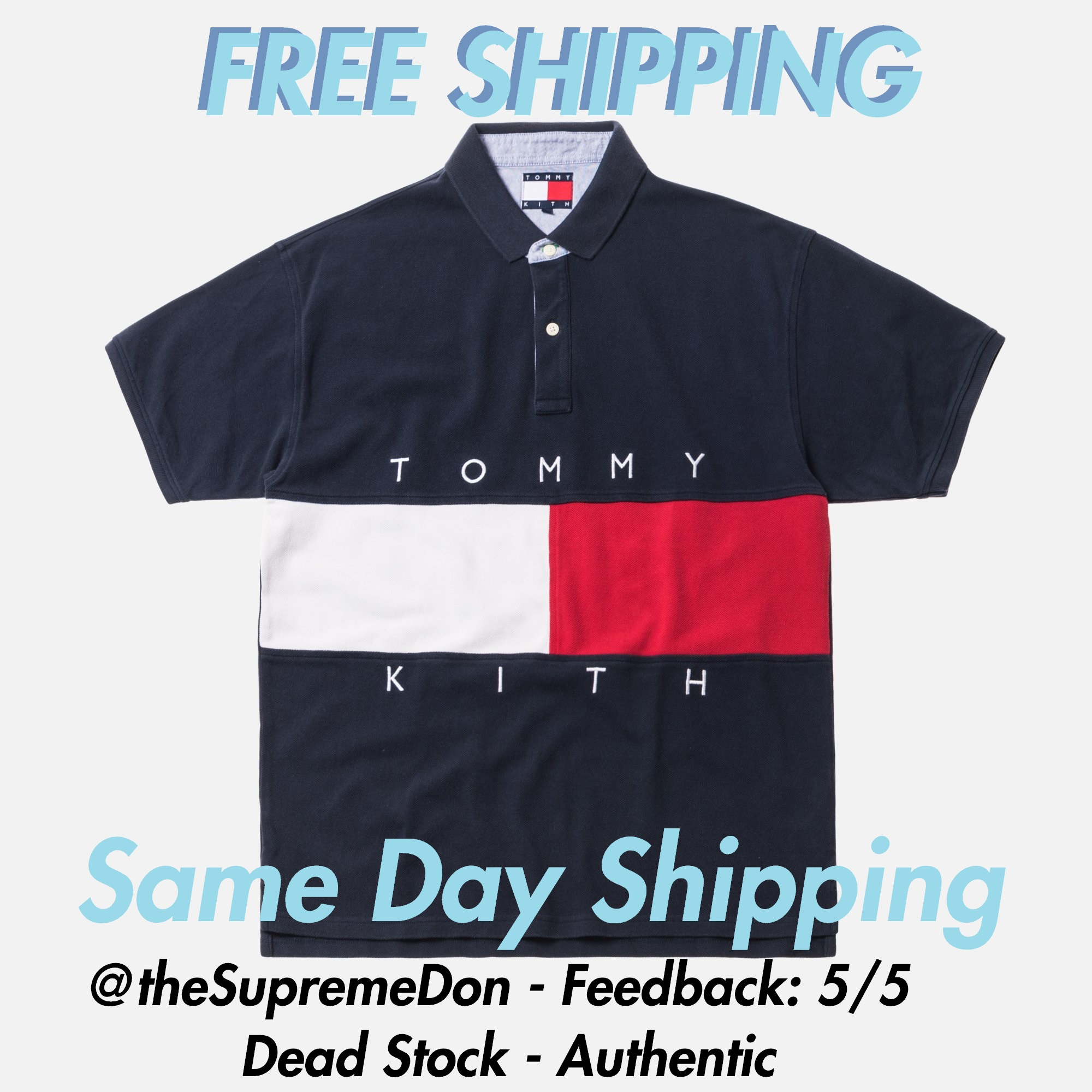 8dac87fa Tommy Hilfiger Kith X Tommy Hilfiger Polo Tee [ Free Shipping ] Dead ...