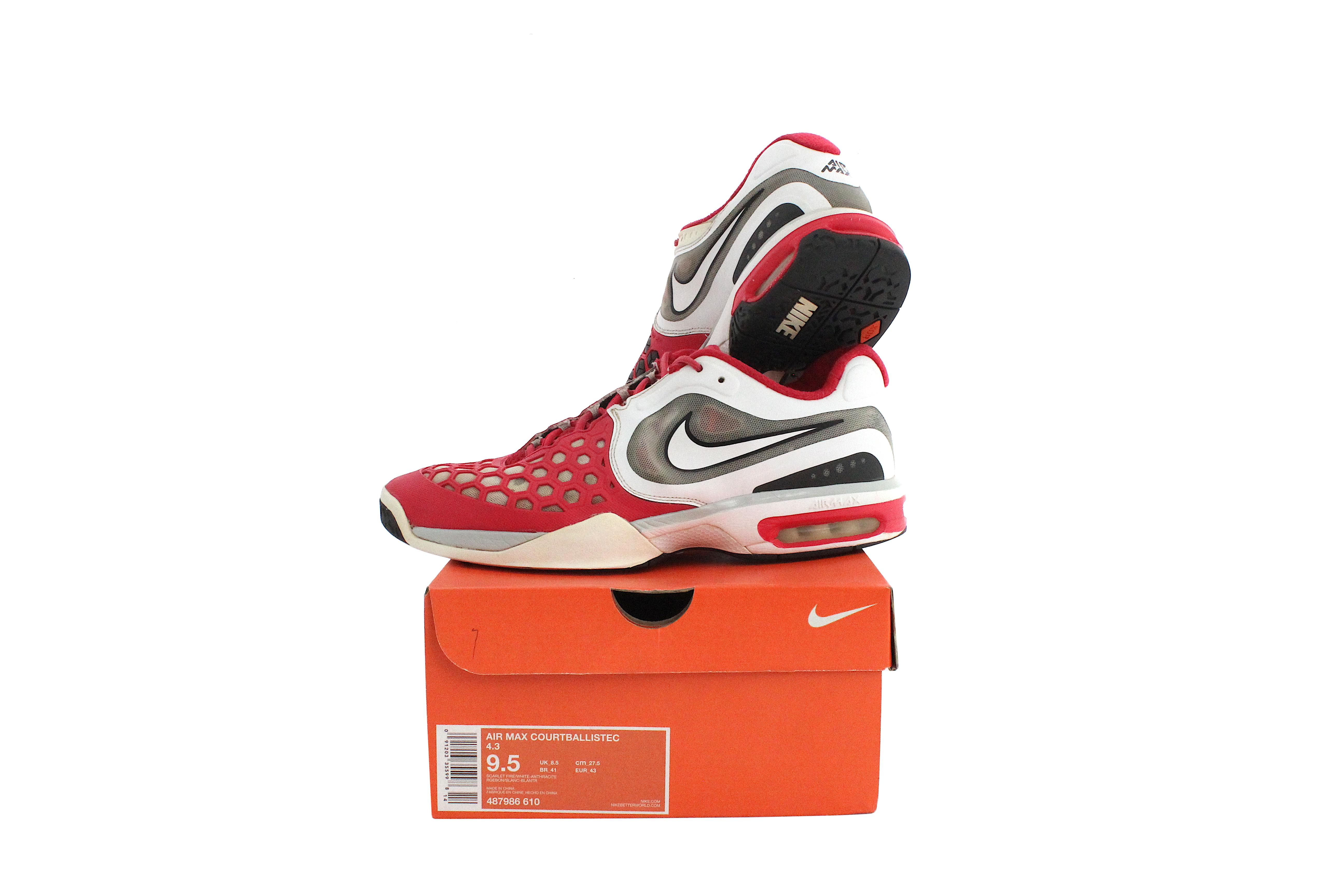 Nike Nike Air Max Court Ballistec 4 3 Nadal 2012 Tennis Shoes Grailed