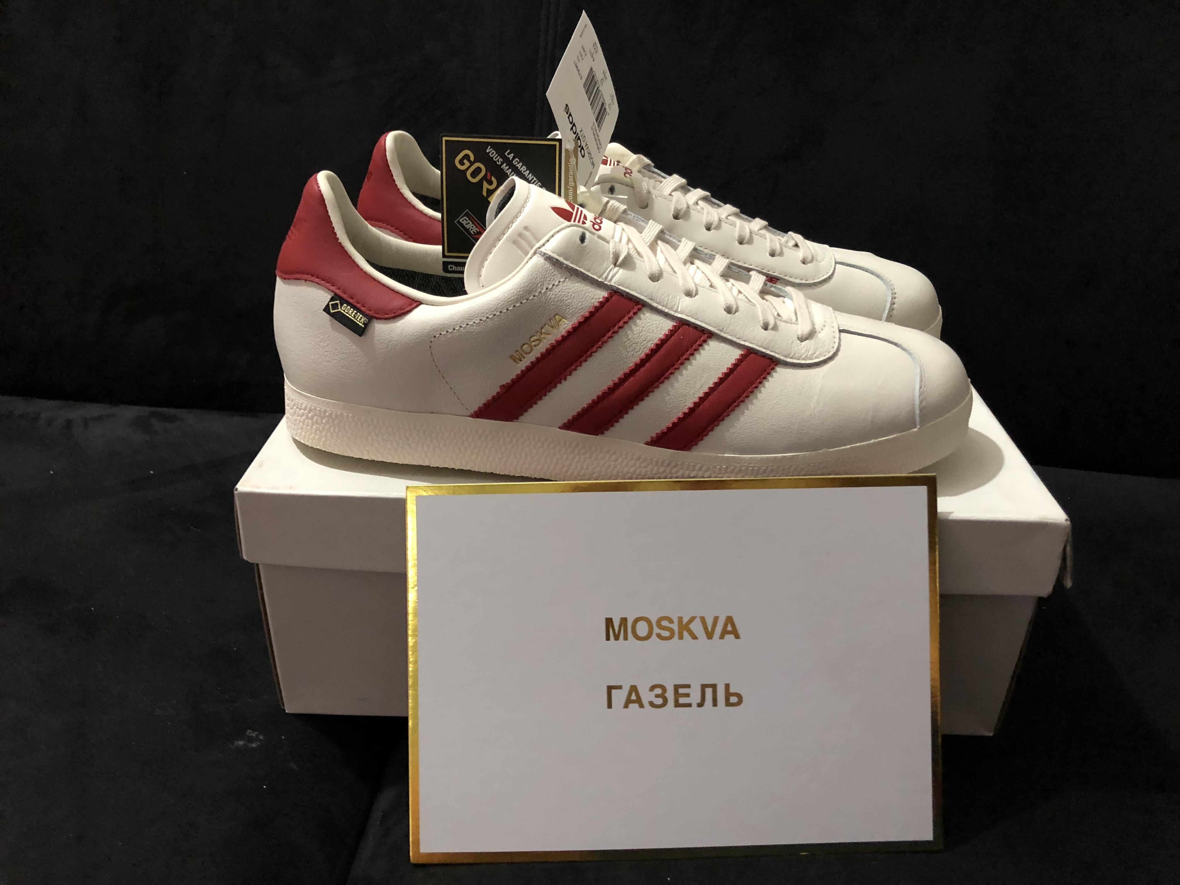 adidas gazelle moskva gtx size 10.5 US
