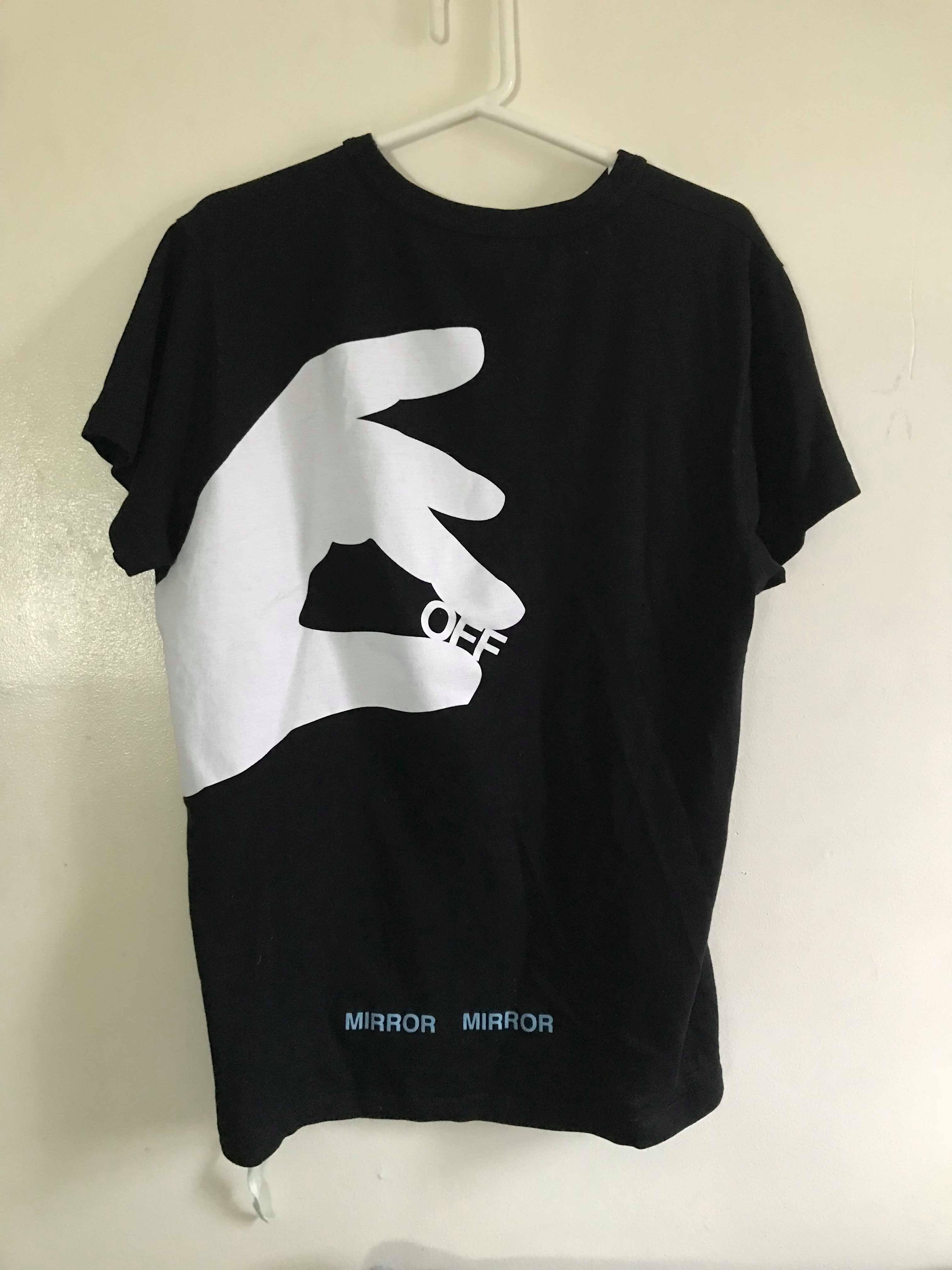 359b75900b82 Off-white Off White Hand Off Tee Black | Grailed