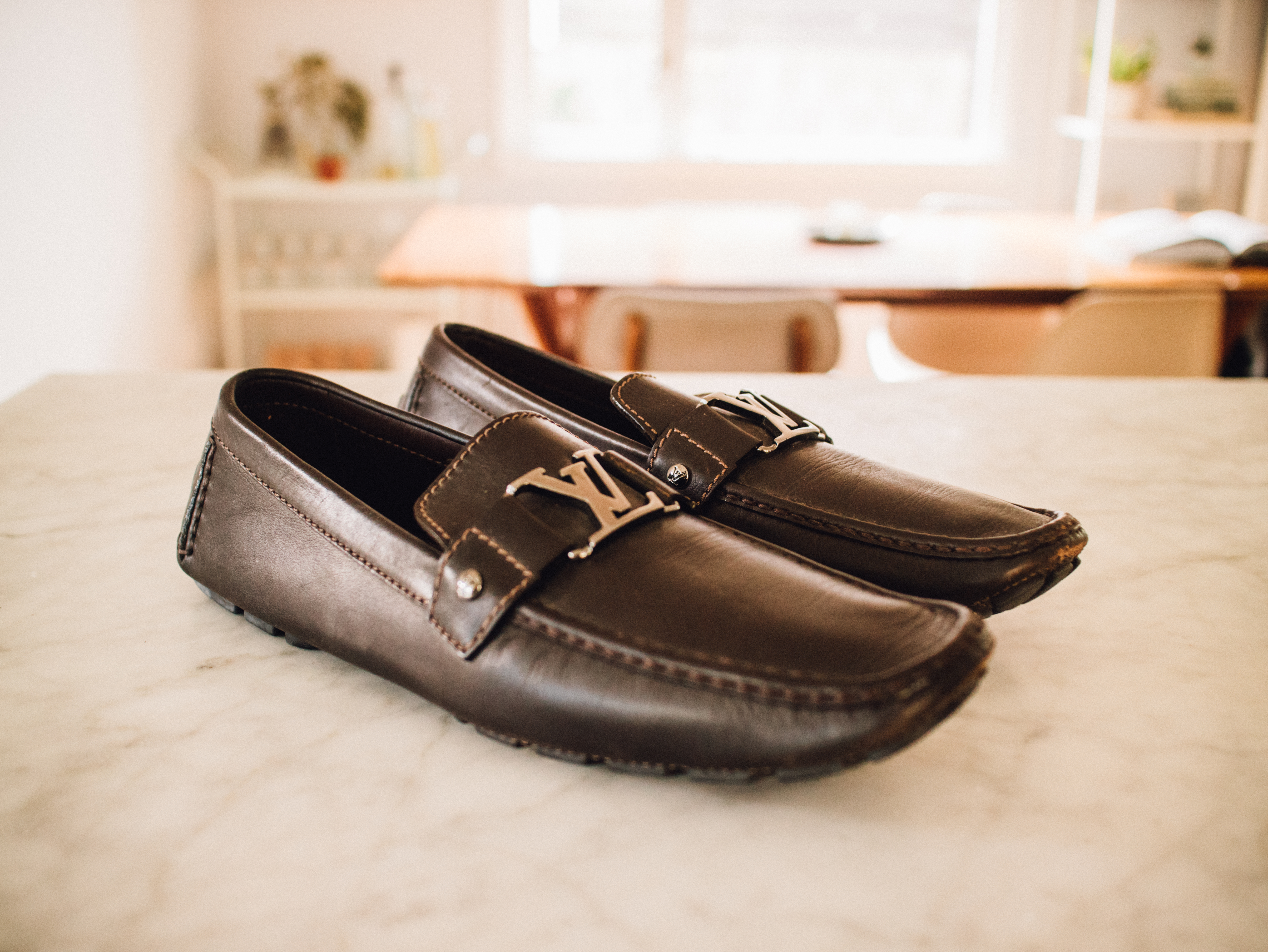7d52aeed9bed Louis Vuitton Louis Vuitton Monte Carlo Car Shoe   Driving Loafers ...