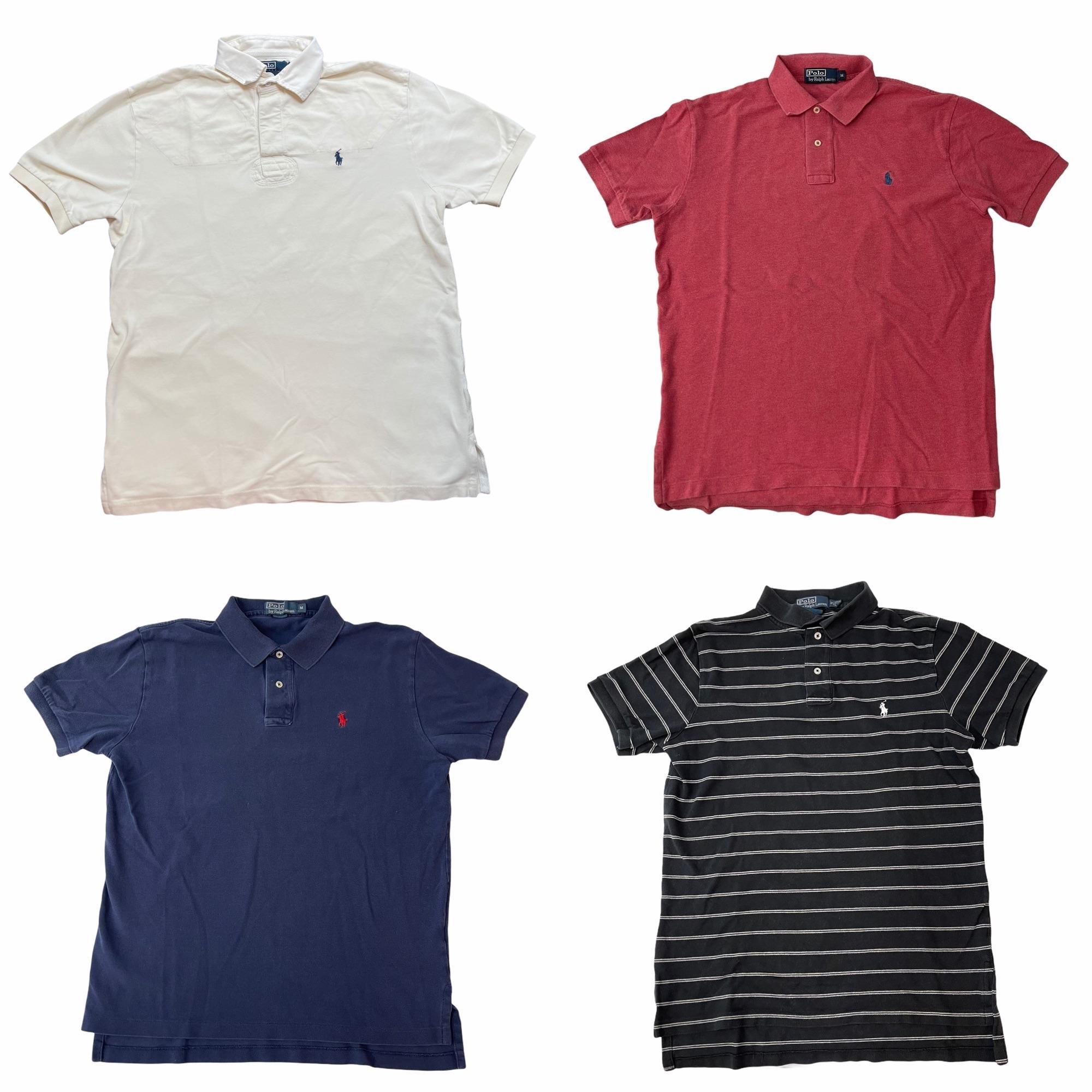 Lot of 5 Ralph Lauren Polo Shirt Men's Size Medium 045
