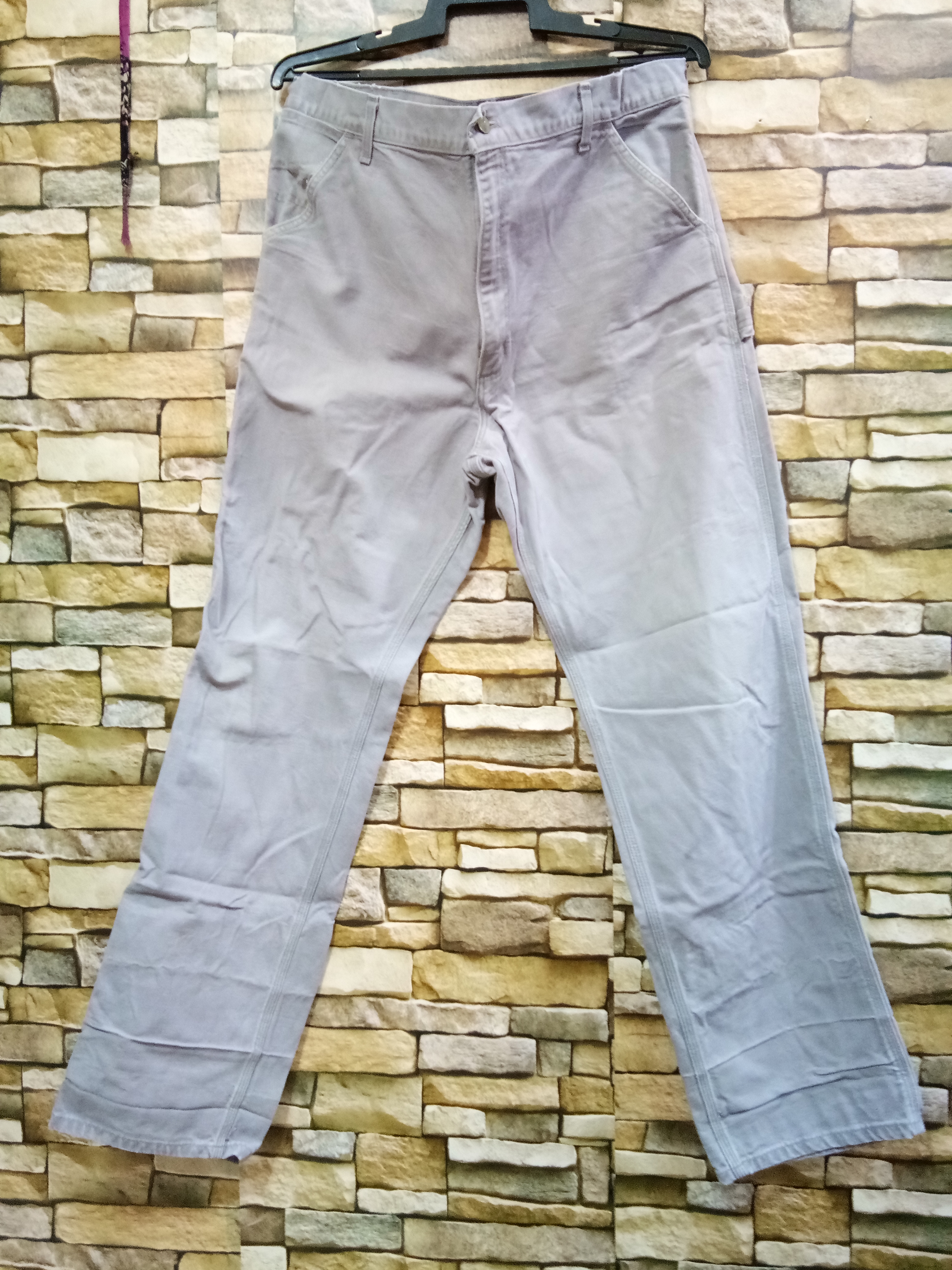 1980s Carhartt Jeans Carpenter Pants Size 32 Union Made USA