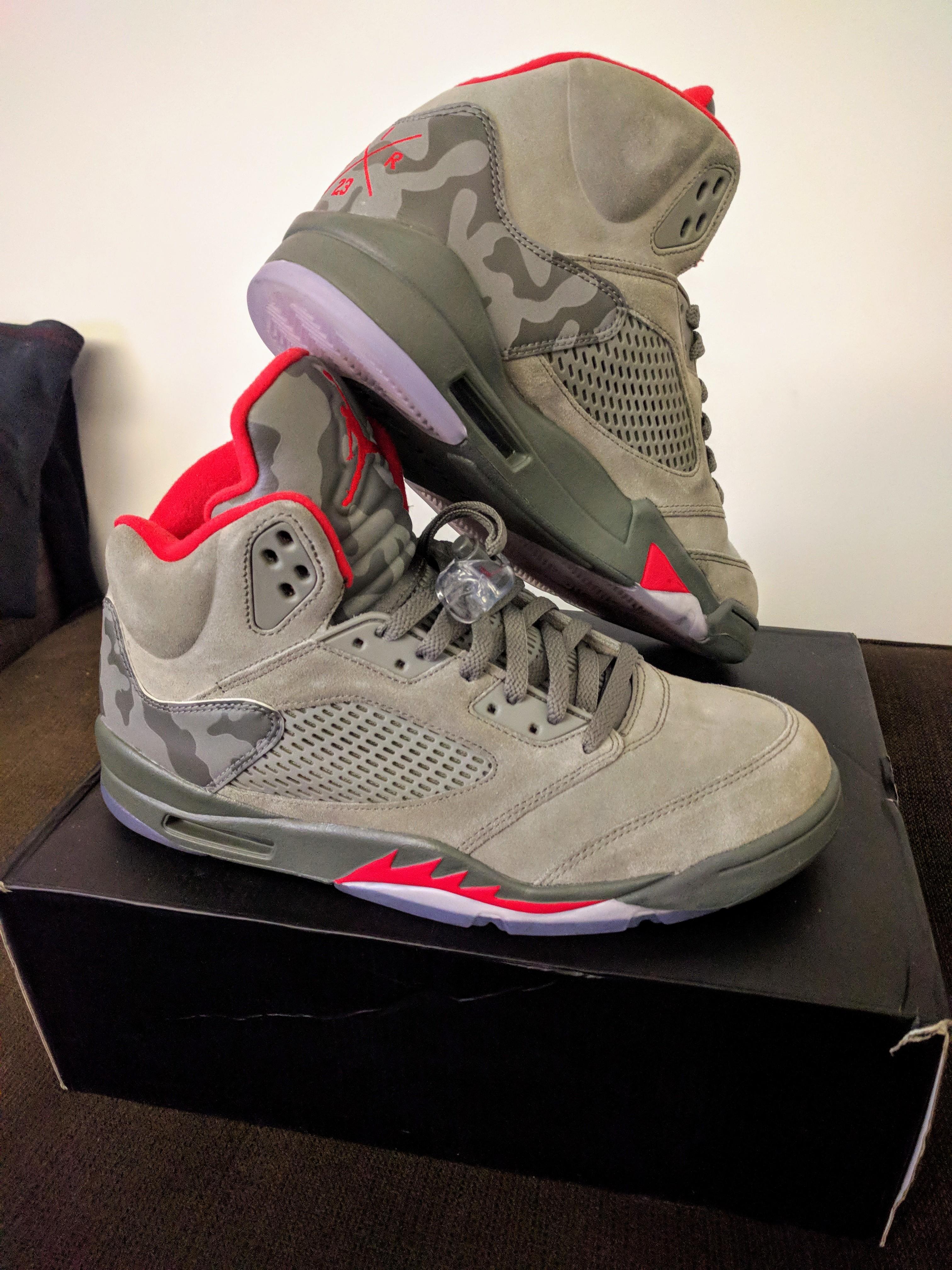 online store 0bbd5 49a04 Jordan 5 Retro P51 Camo
