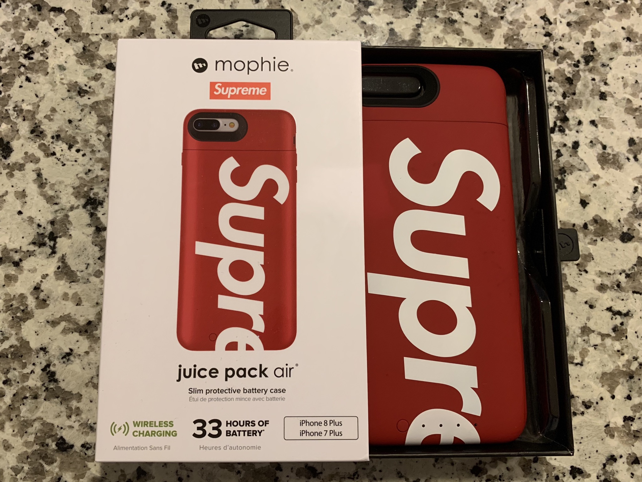 supreme supreme mophie red iphone 8 plus case size one sizesupreme supreme mophie red iphone 8 plus case size one size supreme for sale grailed