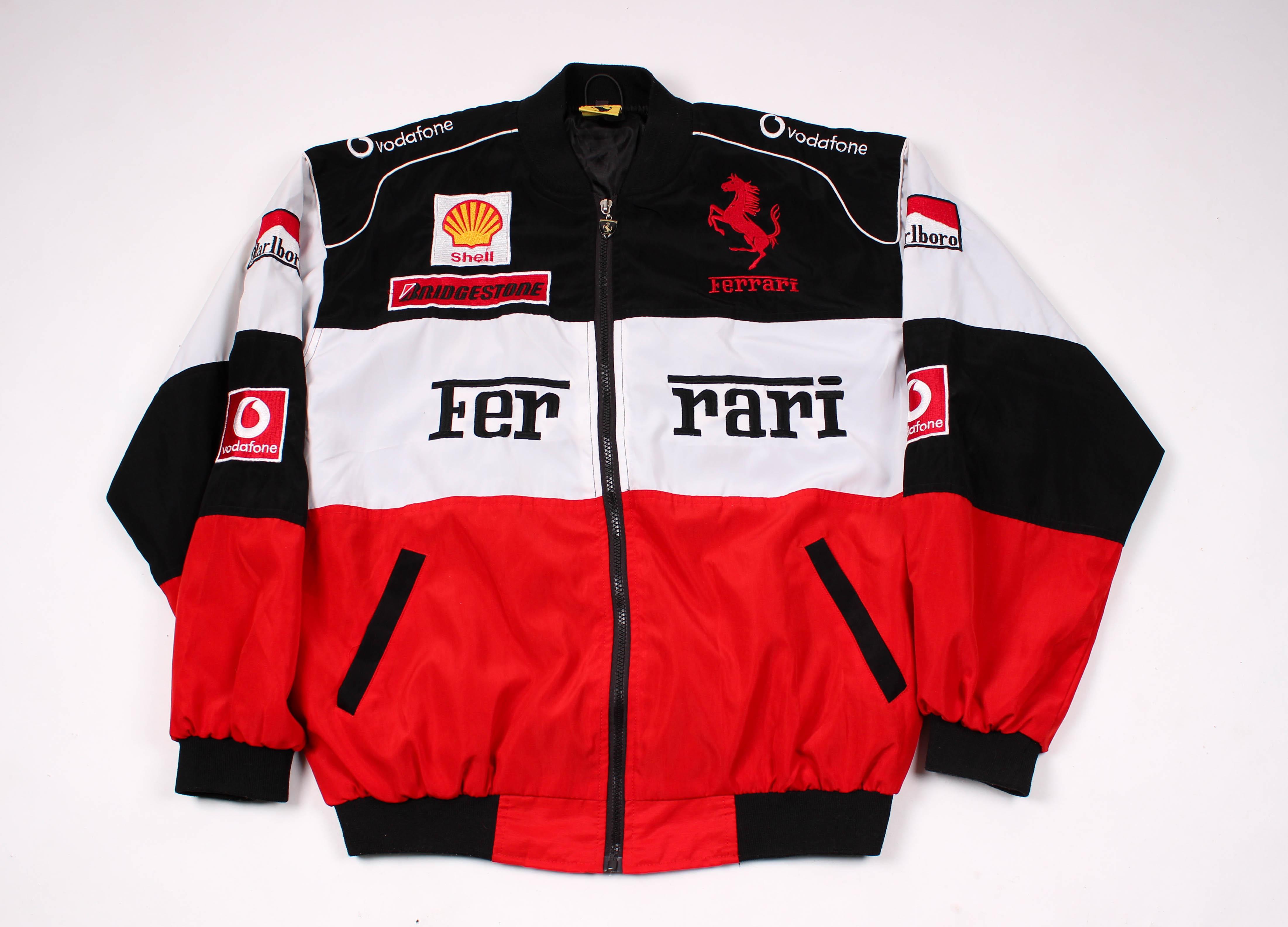 Vintage Vintage Ferrari Racing Jacket Grailed