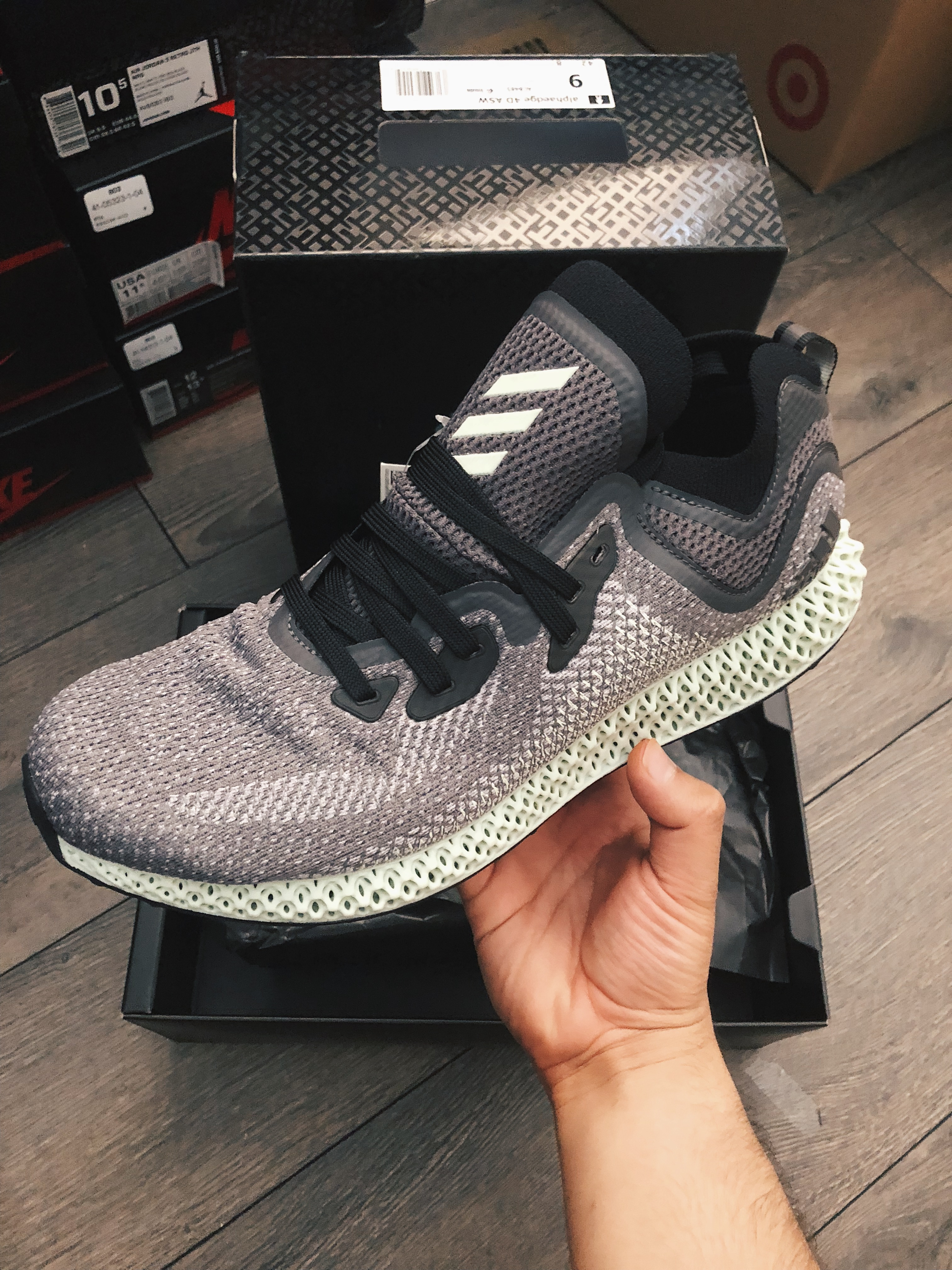 d8a7e85ac Adidas adidas AlphaEdge 4D Ash Green Size 9 - Low-Top Sneakers for ...