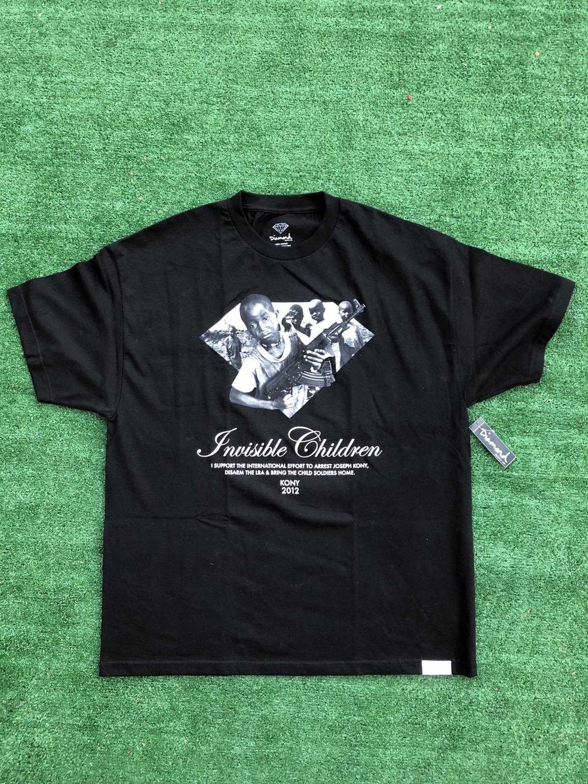 Diamond supply Kony 2012 shirt