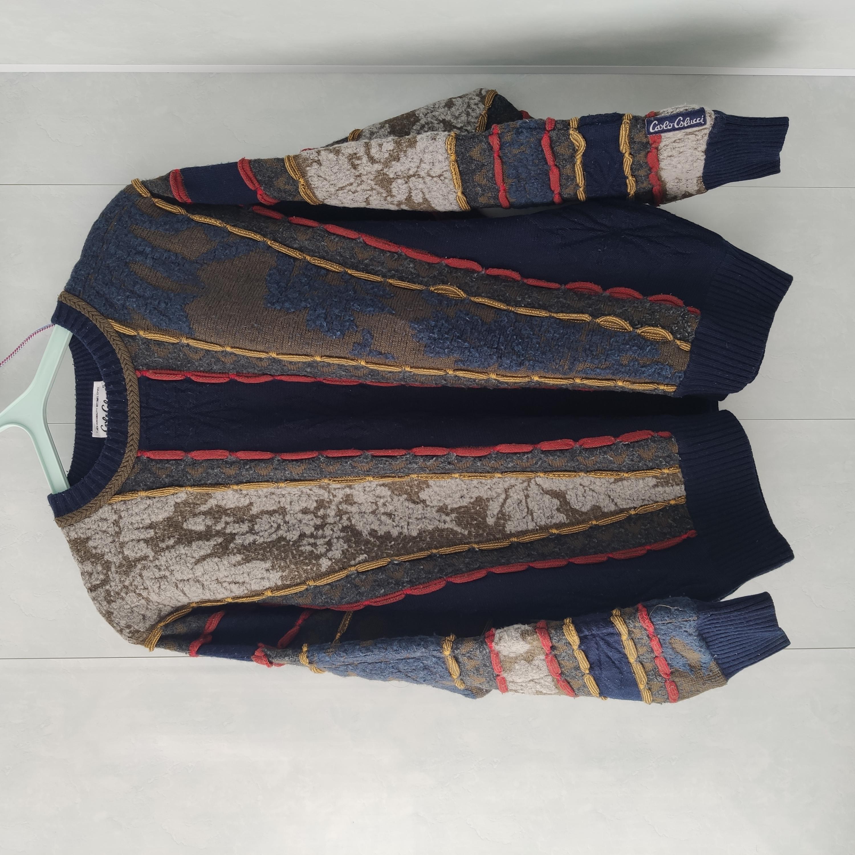 Carlo Colucci Vintage Multicolour Sweater