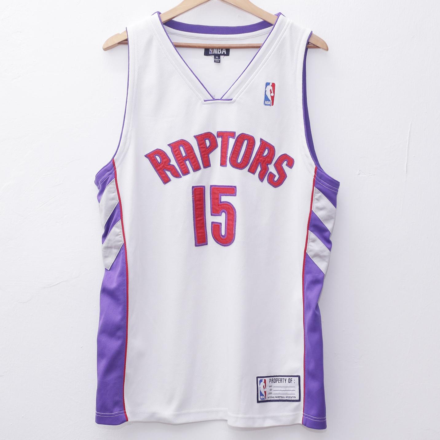 sports shoes 3d25f abbfc NBA Jersey TORONTO RAPTORS Carter 15 Pit 23