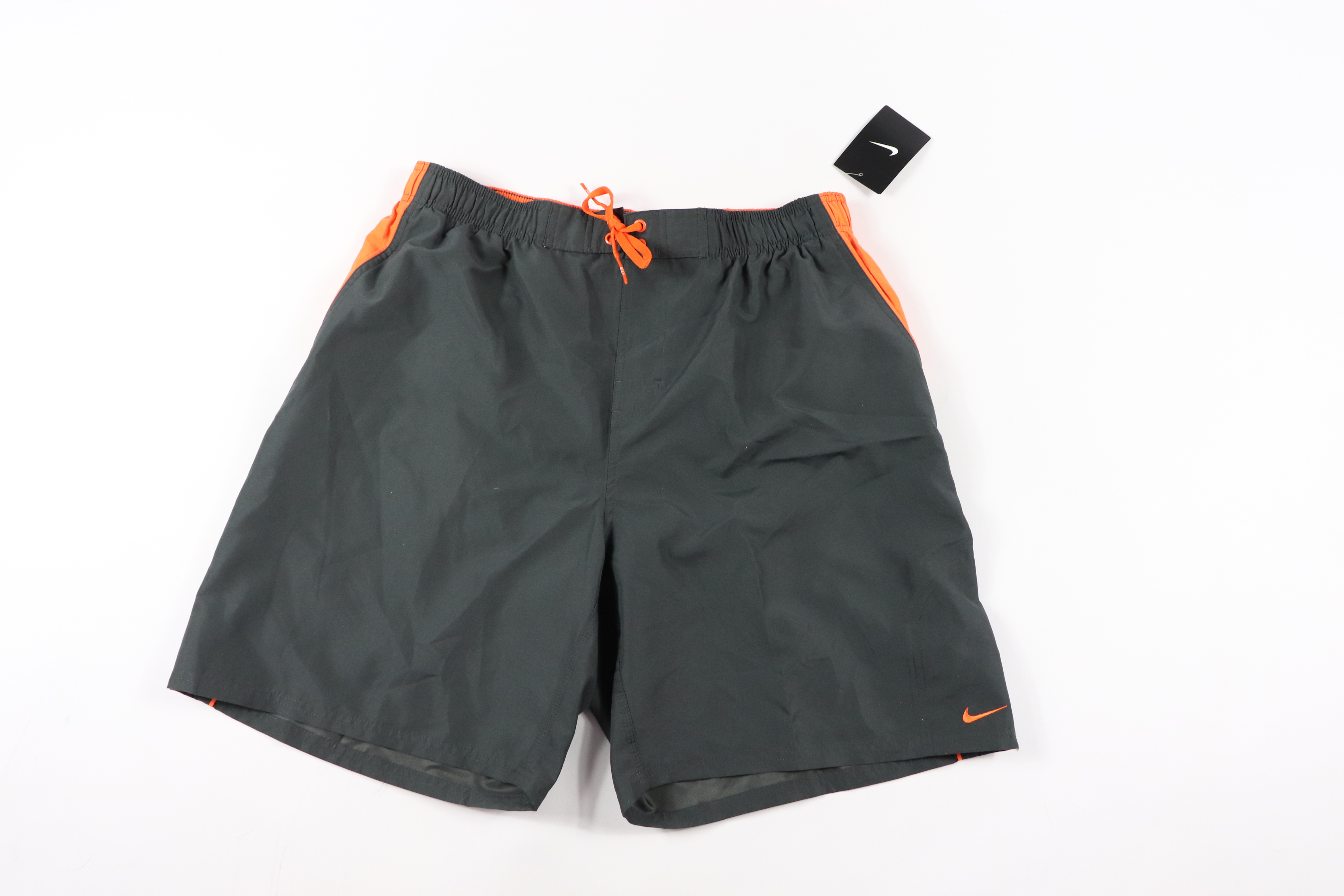 555eaa0167 Nike ×. New Nike Mens XL Spell Out Outdoor Swimming Swim Trunks Shorts ...