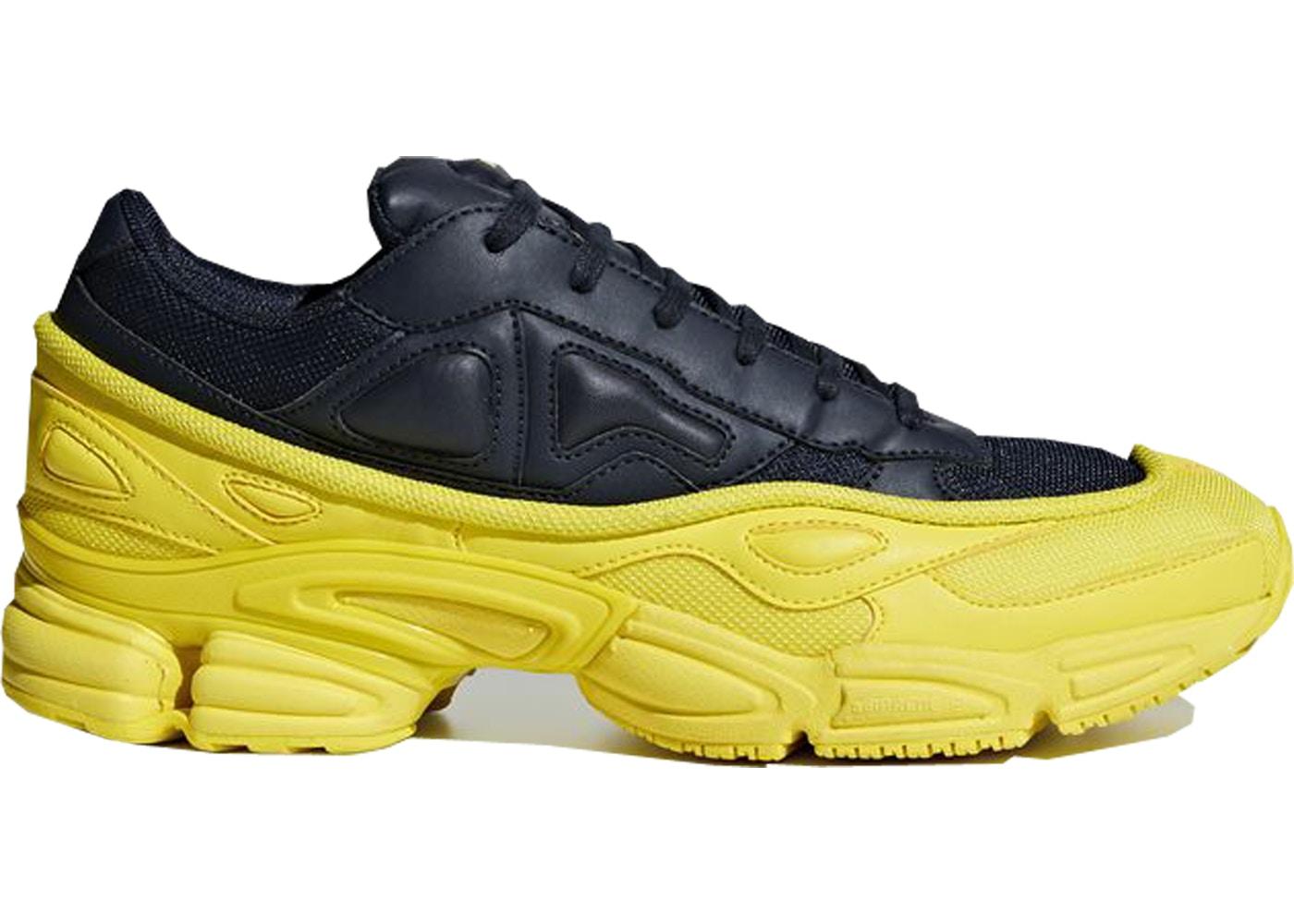 on sale b7d9c 07620 Adidas x Raf Simons Ozweego Bright Yellow / Night Navy