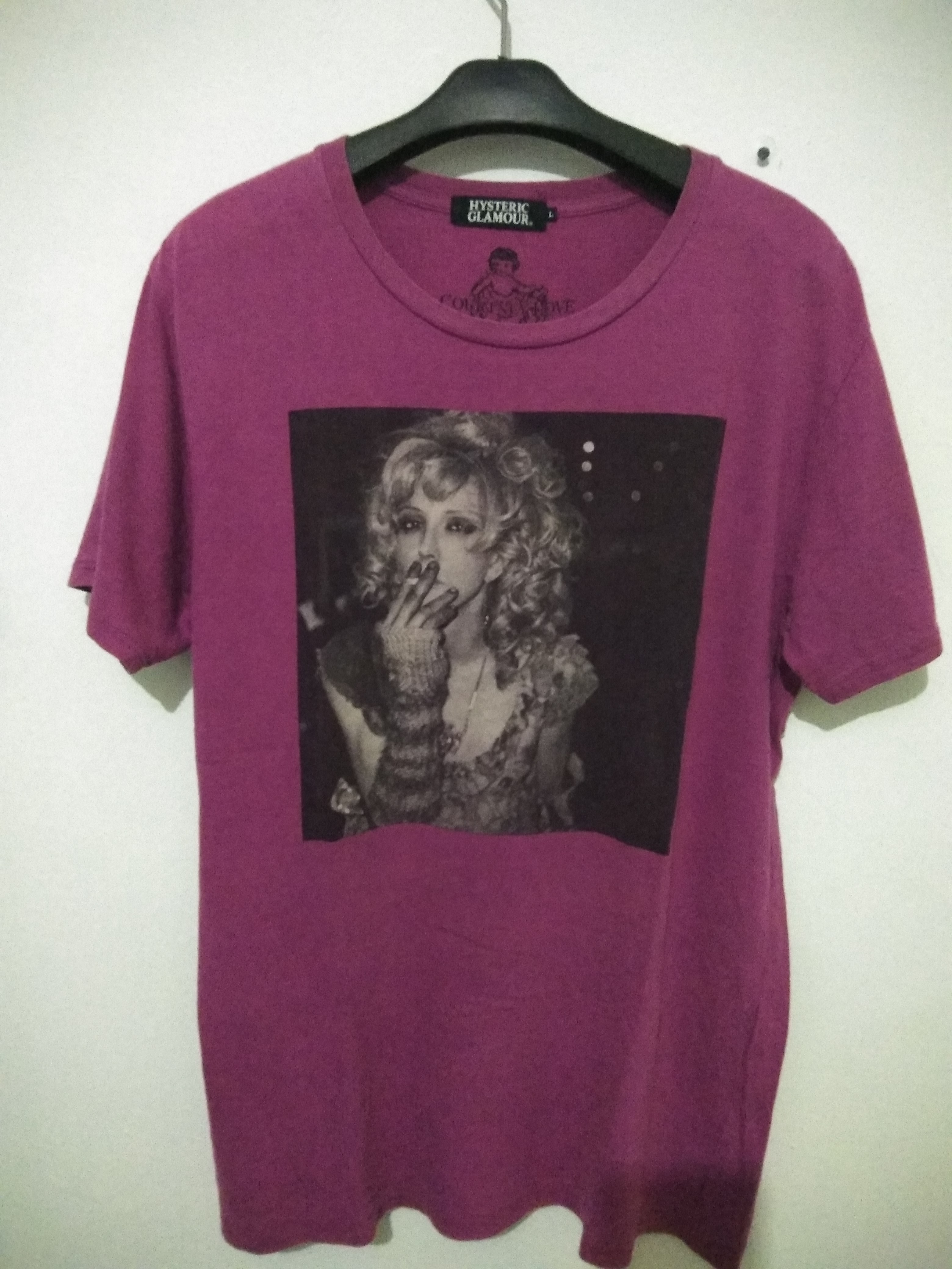 027f1ca81 Hysteric Glamour Hysteric Glamour Tee X Courtney Love (hole Band ...
