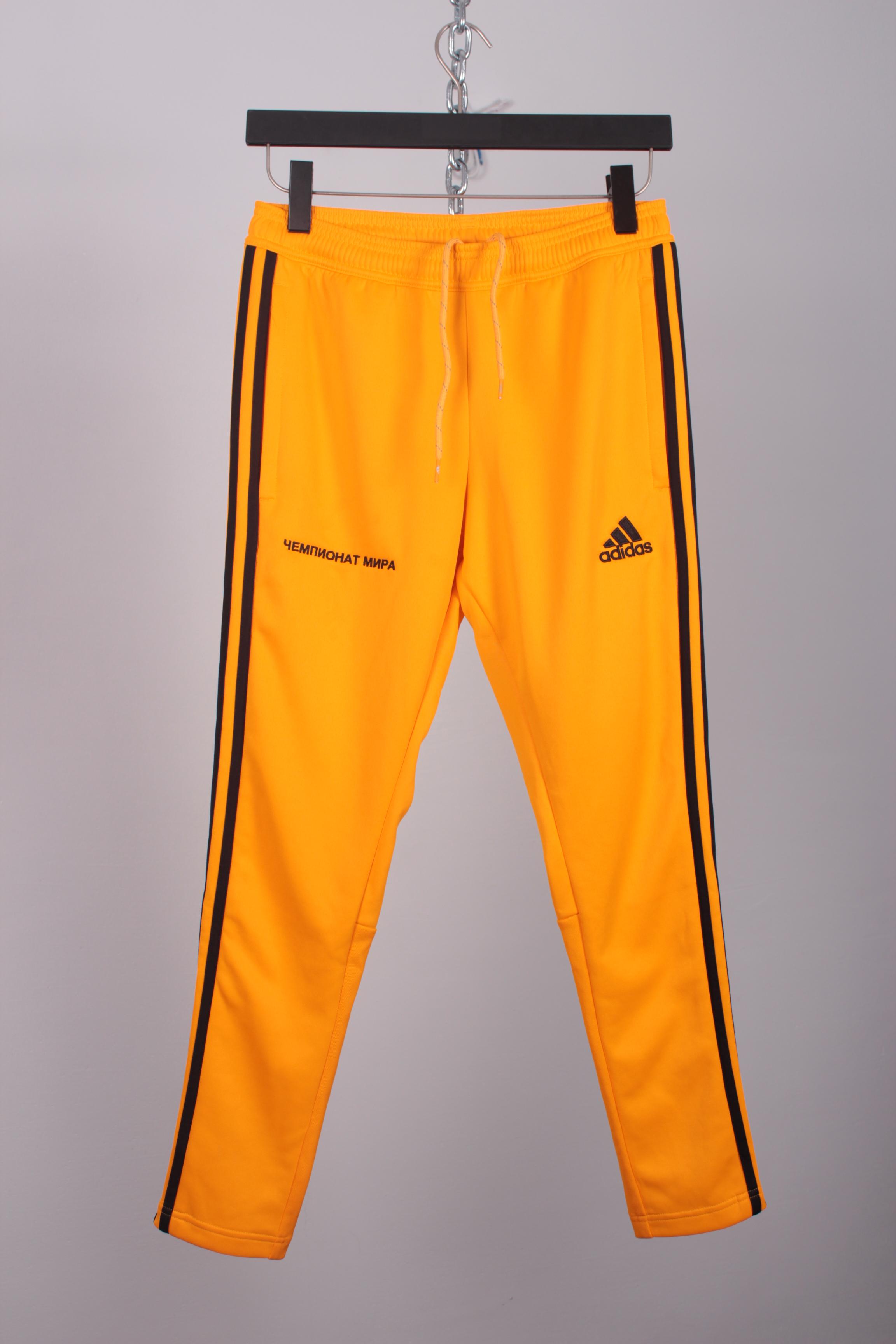 virtual objetivo Descriptivo  Adidas Gosha X Adidas Yellow Track Pants | Grailed