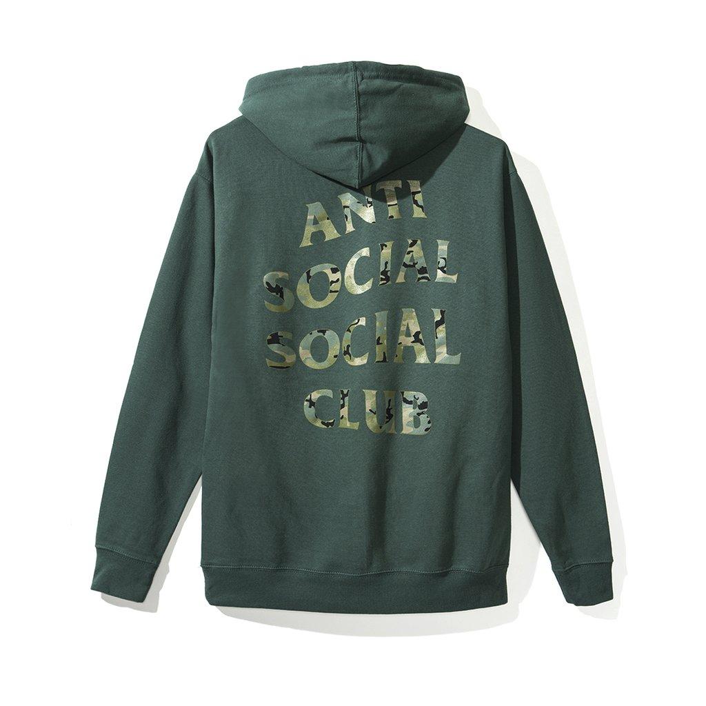 f868563bd7d3 Antisocial Social Club DS SS18 Anti Social Social Club ASSC camo logo Woody green  hoodie sz M Supreme kiTh BapE Size m - Sweatshirts   Hoodies for Sale - ...