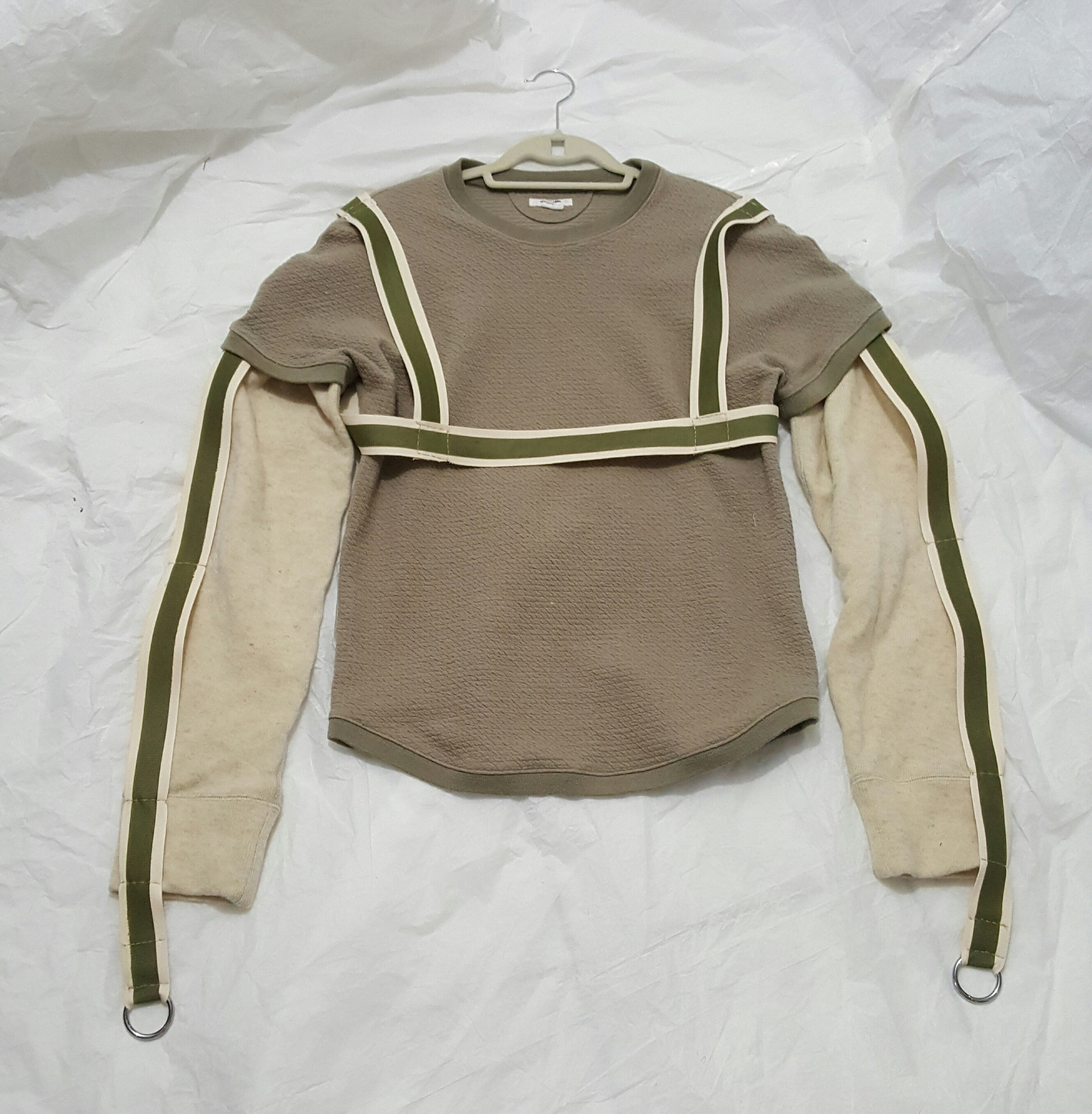 8f8d510732f3e Helmut Lang Quilted Harness Longsleeve Upcycle Size m - Long Sleeve ...