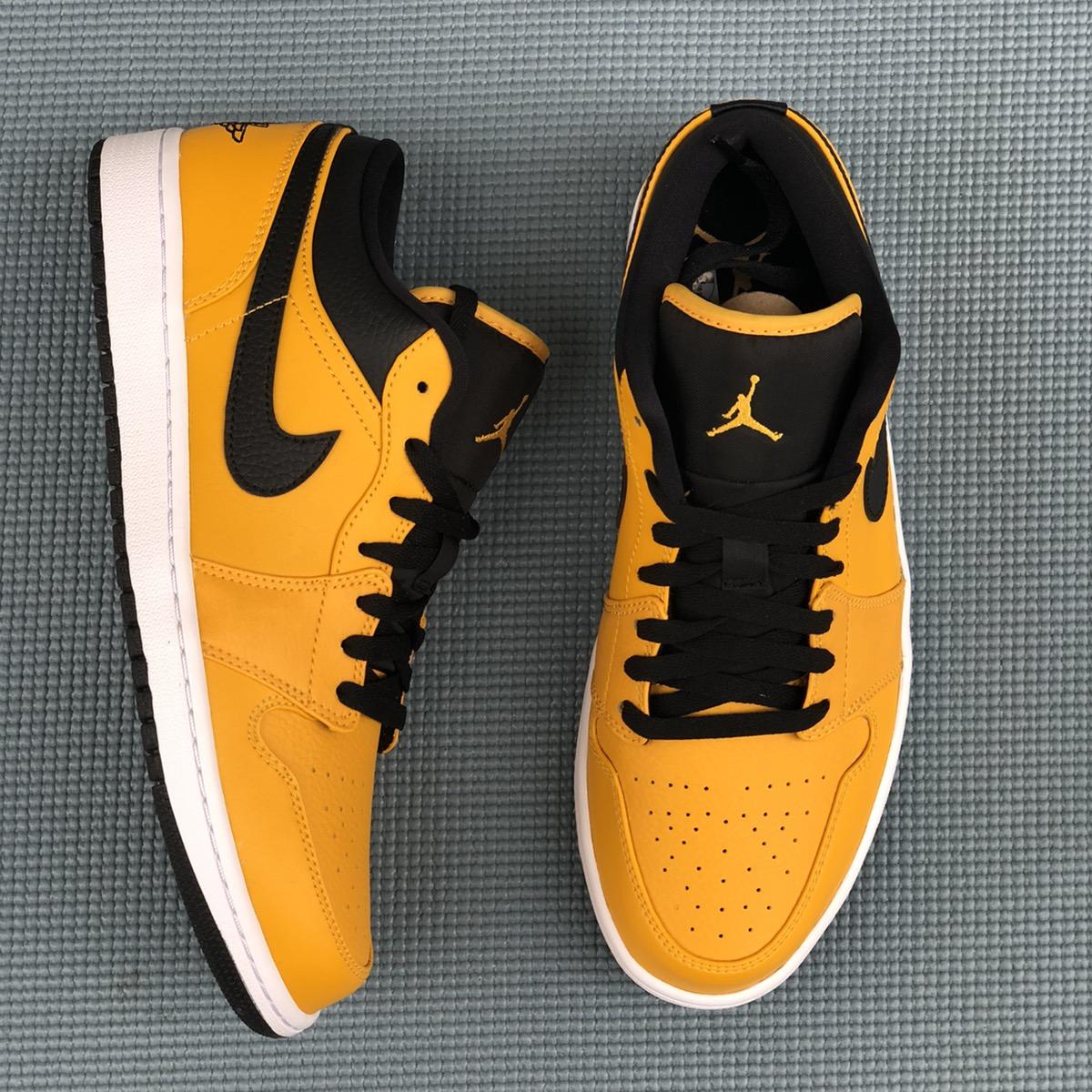 Jordan Brand Nike Air Jordan 1 Low University Gold