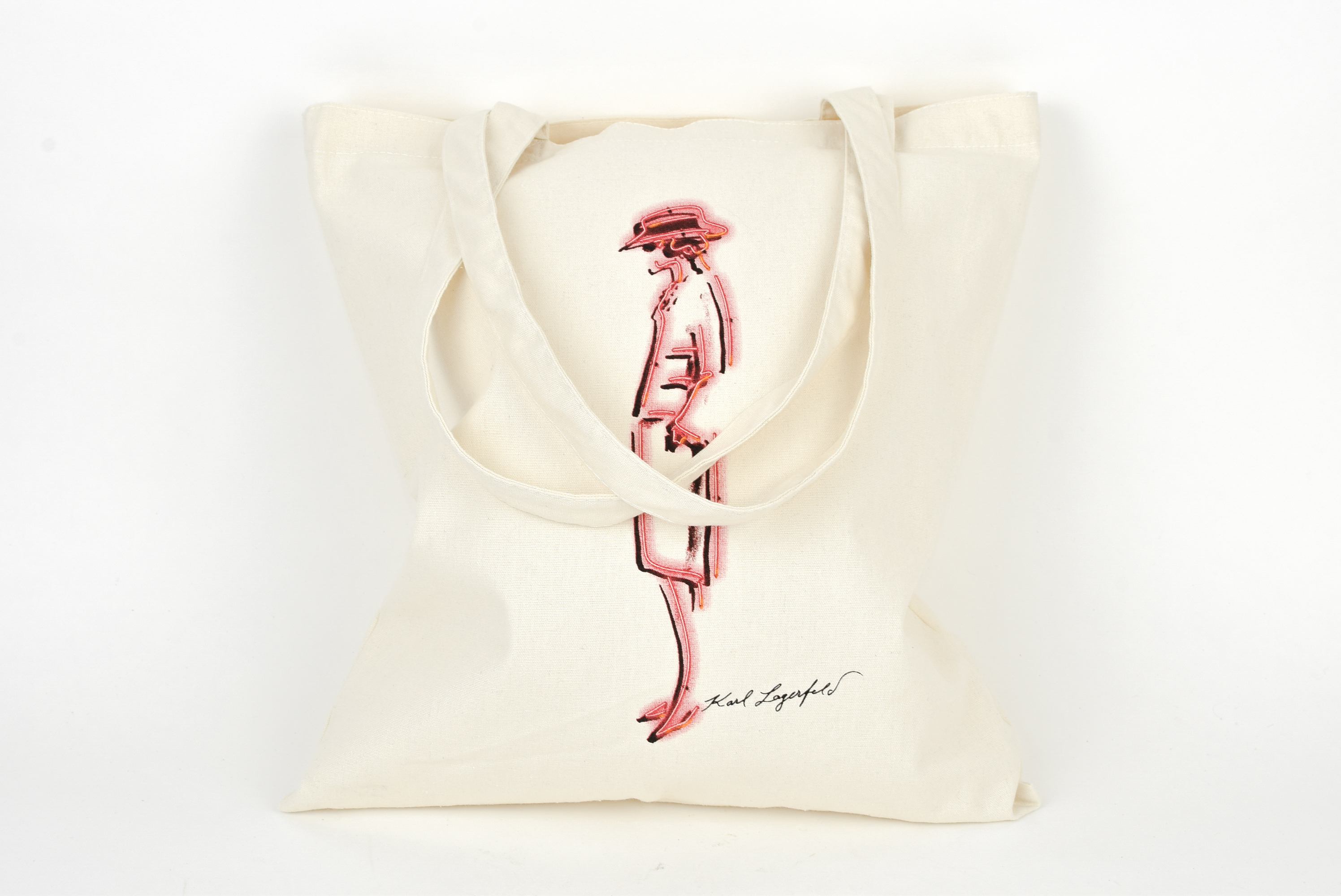 8ae5c29029d Chanel ×. NEW CHANEL Mademoiselle Prive Karl Lagerfeld Bag Canvas Tote Hong  Kong ...
